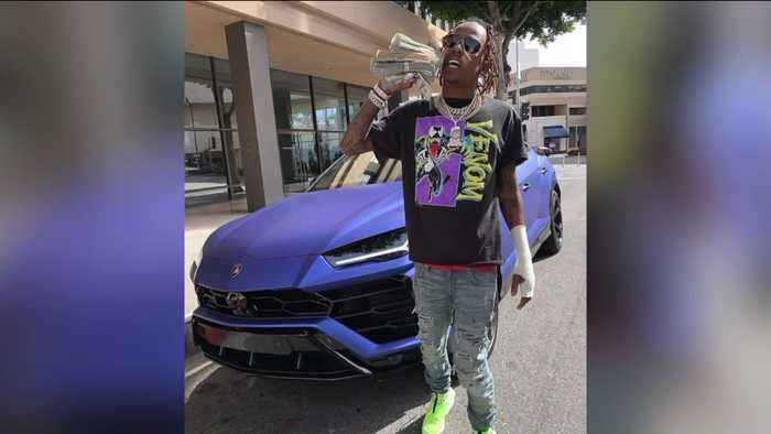 Rapper Rich The Kid Shot at During Robbery Outside Recording Studio: Sheriff's Department