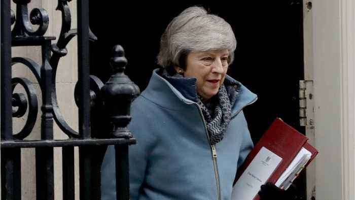 Theresa May Returns To Parliament For Brexit