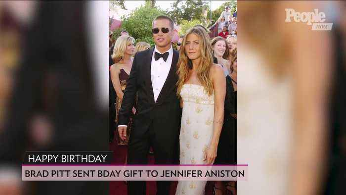 Brad Pitt Sent Jennifer Aniston a Gift Before Her 50th Birthday Party: Source