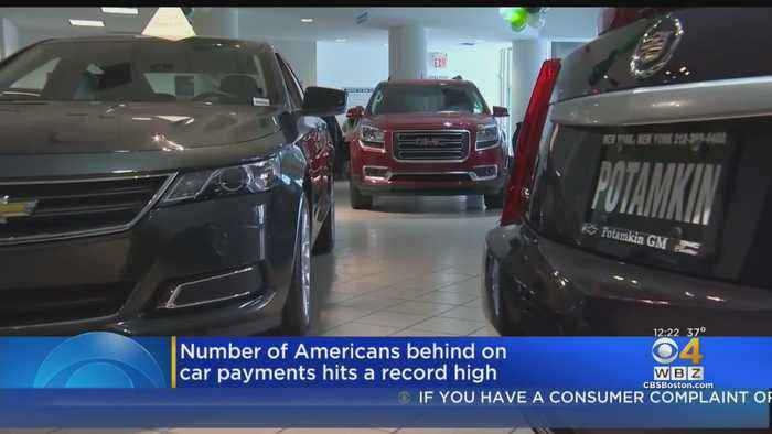 Number Of Americans Behind On Car Payments Hits A Record High