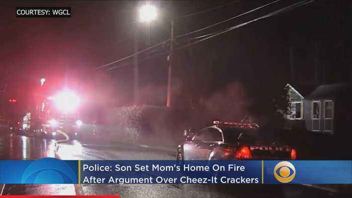 Police: Son Sets Mother's Home On Fire After Argument Over Box Of Cheez-Its