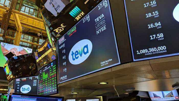 Teva Pharmaceuticals CEO Talks 'Trough Year', 2020 Turnaround