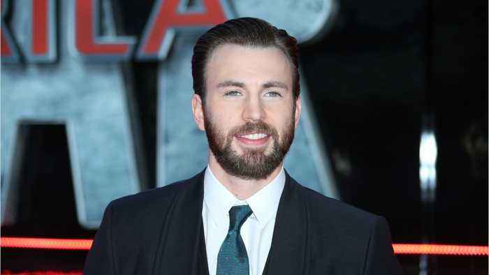 Chris Evans Wishes Fans A Happy Valentin's Day With Help Of His Pup Dodger