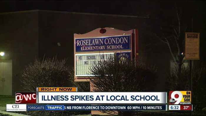Over 100 students call in sick at Roselawn Condon School