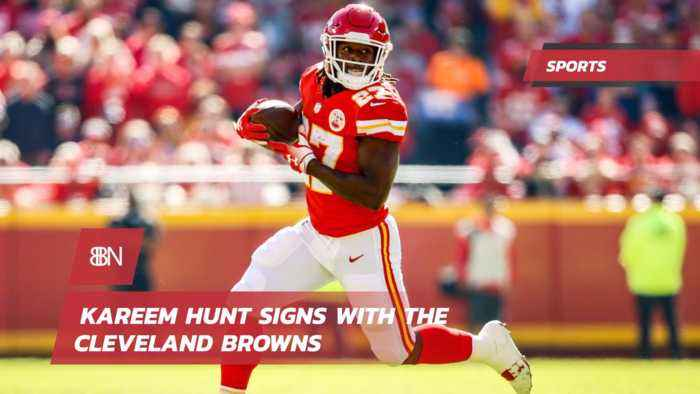 Kareem Hunt Is Now With The Cleveland Browns