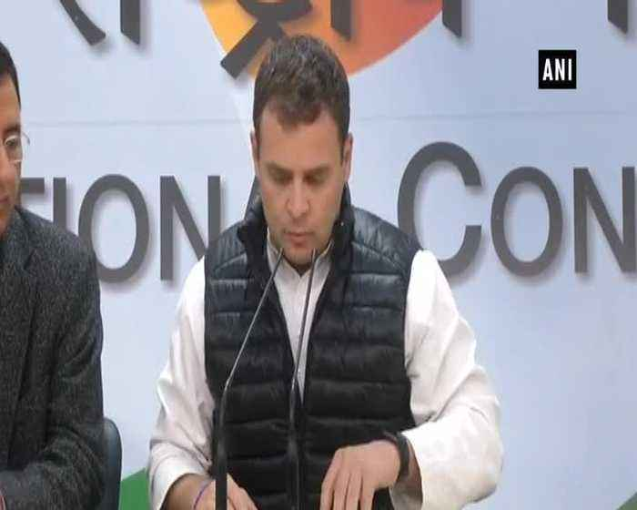 PM Modis Rafale deal slower on delivery Rahul Gandhi on CAG report
