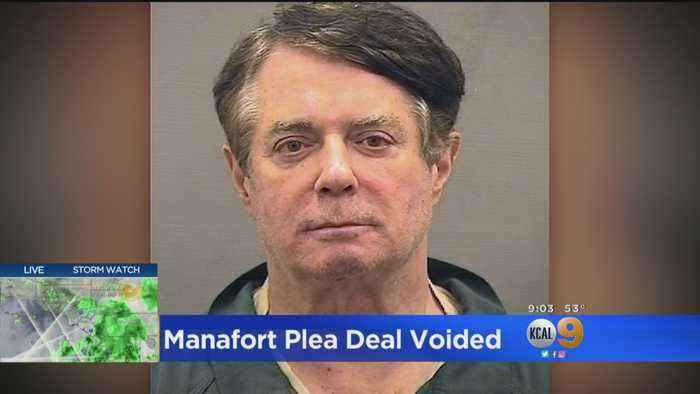 Federal Judge Pulls Leniency Deal For Manafort Saying He Lied Repeatedly To Grand Jury