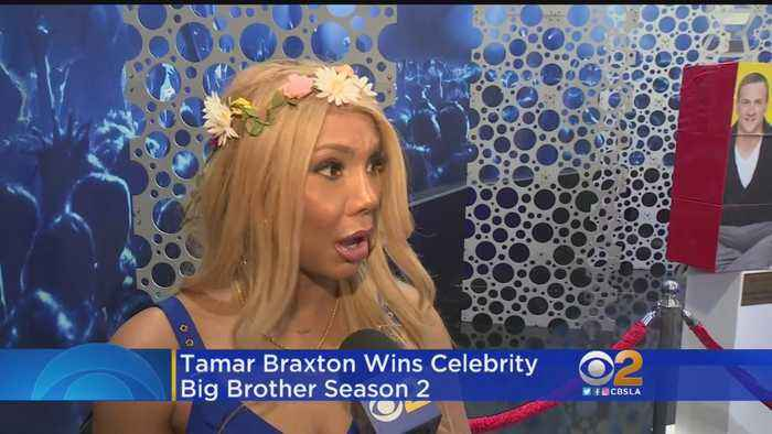 Tamar Braxton Handily Wins 'Celebrity Big Brother 2'