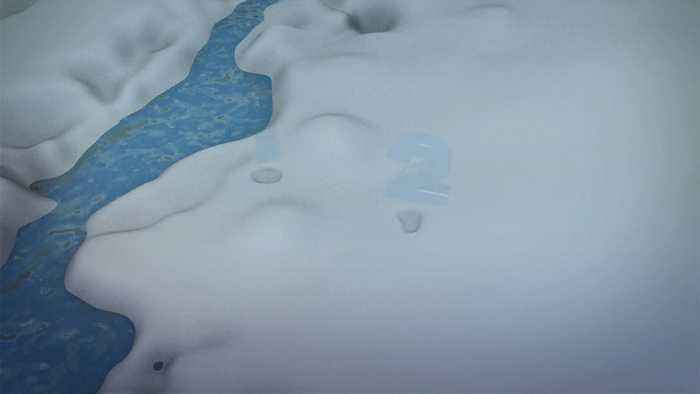 NASA spots 22-mile-wide crater beneath Greenland ice