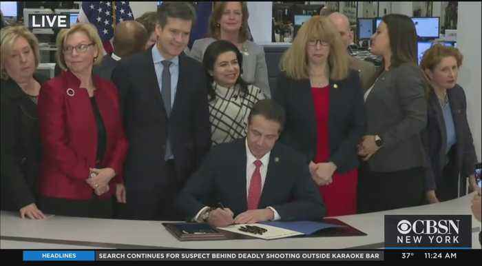 Web Extra: Gov. Cuomo Signs Child Victims Act