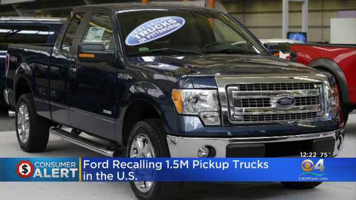 Ford Recalls 1.5 Million Vehicles