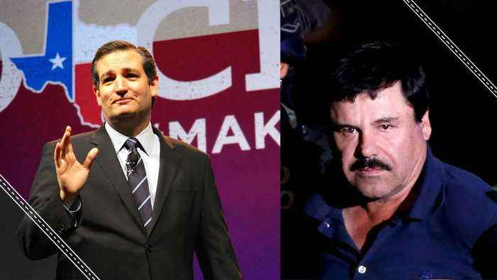 Ted Cruz Wants El Chapo to Pay for the Wall