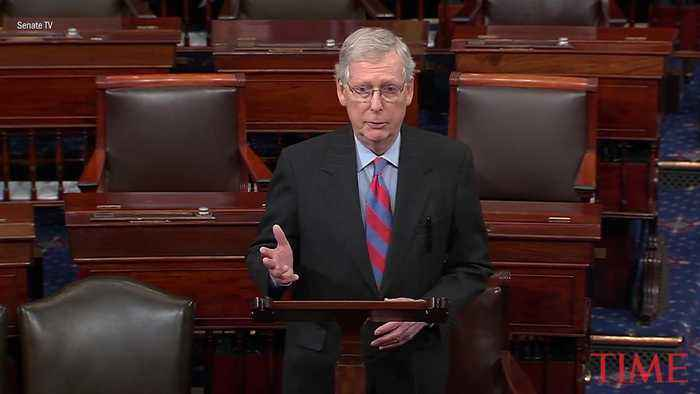 Mitch McConnell Says President Trump Will Sign Border Bill but Declare National Emergency