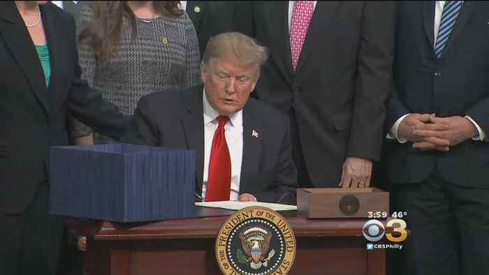 President To Sign Bill To Keep Government Open, But Will Declare National Emergency At Border