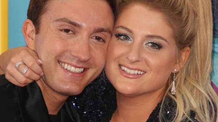 Meghan Trainor's music video for 'Marry Me' features footage from her lavish December wedding