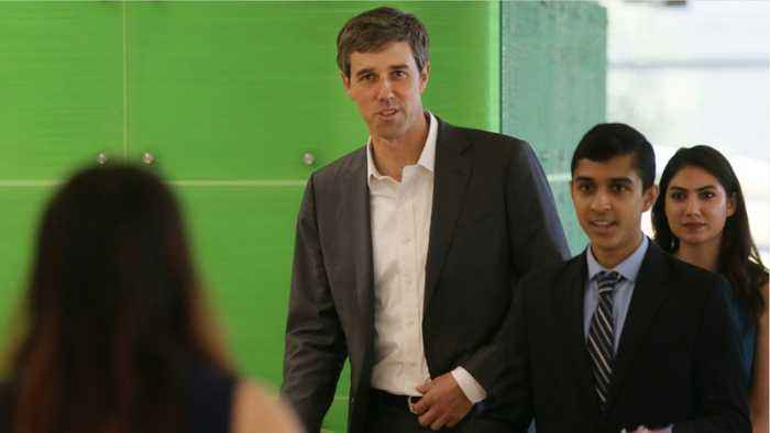 Beto O'Rourke Says He'd Tear Down US-Mexico Border Wall