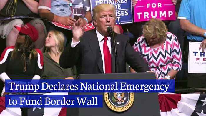 Trump Declares National Emergency to Fund Border Wall