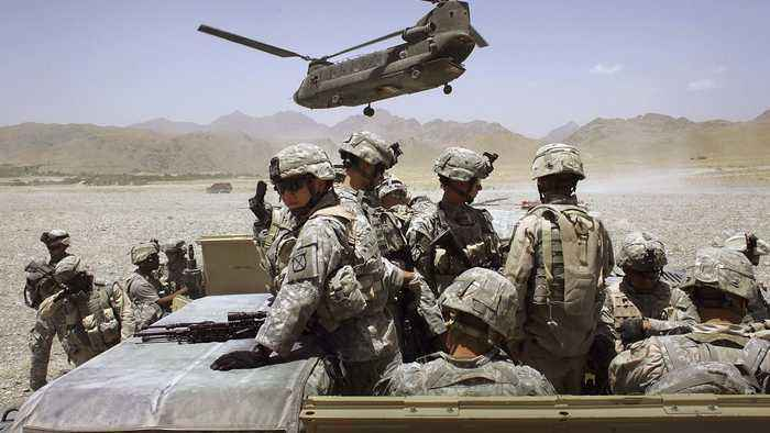 Shanahan: US Won't Unilaterally Pull Troops Out Of Afghanistan