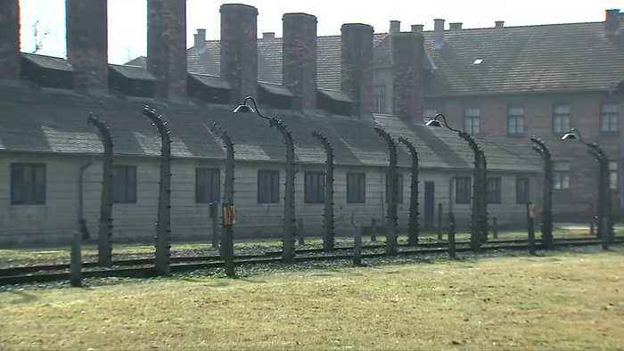 U.S. Vice President Mike Pence visits Auschwitz