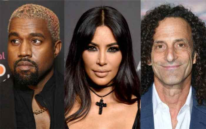 Kanye Surprises Kim With Kenny G Performance for Valentine's Day