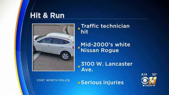 Police Searching For Driver To Hit Fort Worth Stock Show Worker And Then Fled