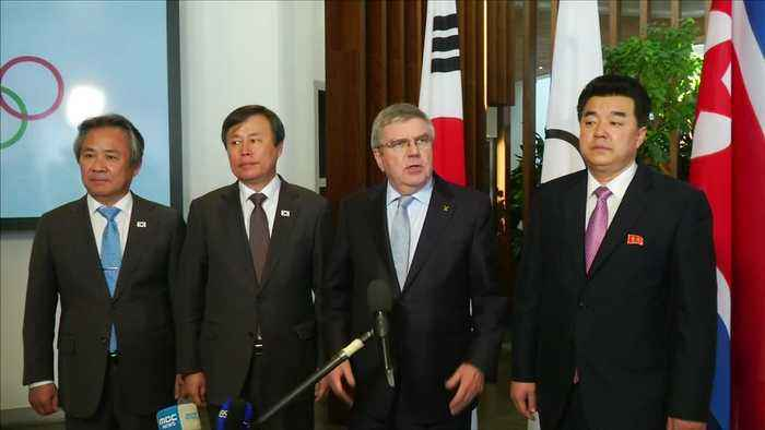 North, South Korea eye joint march, teams for Tokyo 2020