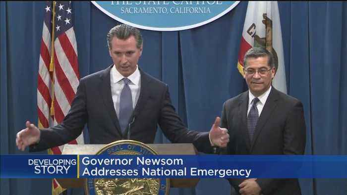 Newsom On Emergency Declaration For Border Wall: 'Donald Trump, We'll See You In Court'