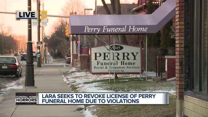 LARA seeks to revoke license of Perry Funeral Home due to multiple violations