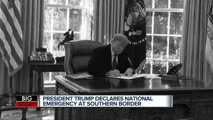 President Trump declares national emergency to pave way for US-Mexico border security upgrades