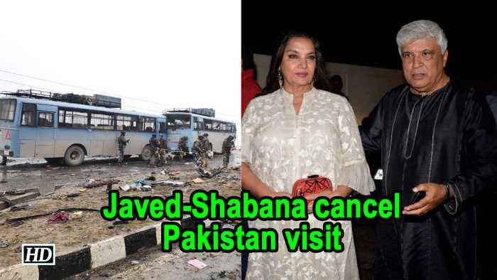 Javed Akhtar, Shabana Azmi cancel Pakistan visit