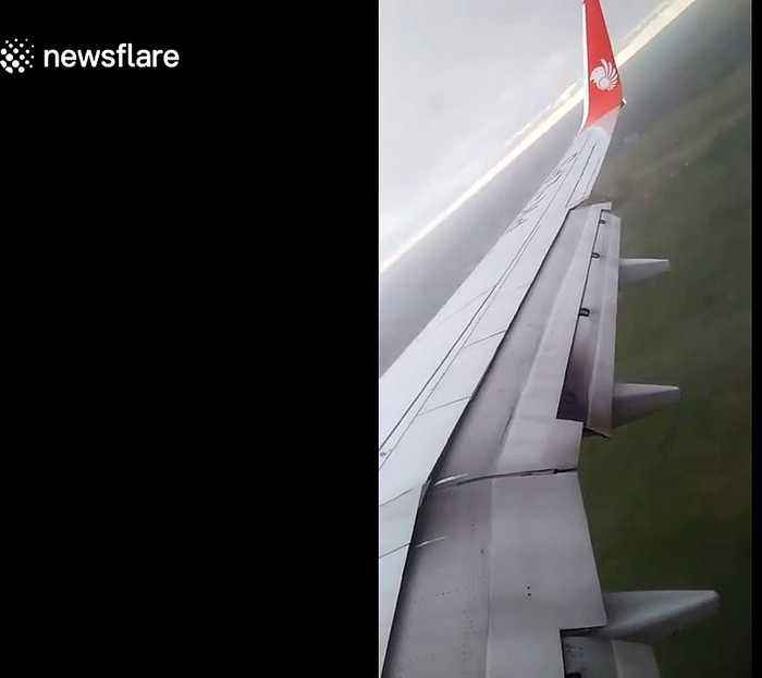 Dramatic moment Lion Air plane skids off runway at Indonesian airport