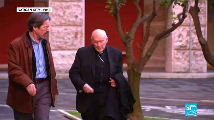 Vatican dismisses former cardinal McCarrick from priesthood over sex abuse charges