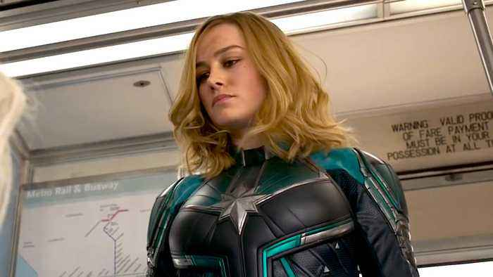 Captain Marvel with Brie Larson - Official 'Trust' Trailer