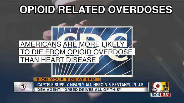 Cartels supply most heroin, fentanyl in US