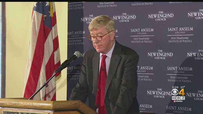 Former Massachusetts Governor Contemplates Running For President