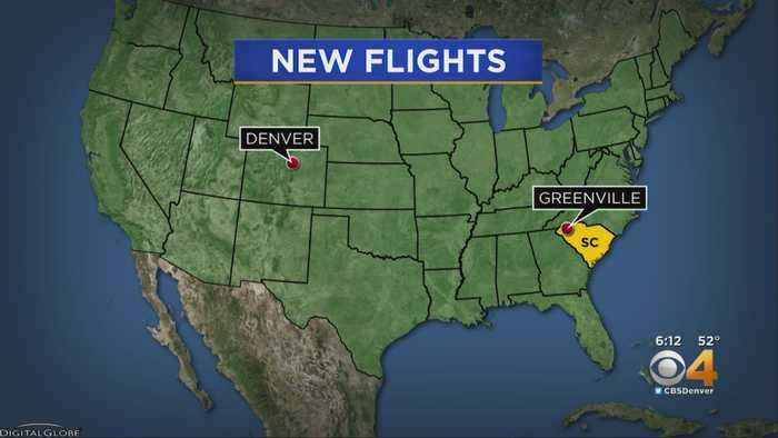 United Airlines Adds DIA To Greenville Flight