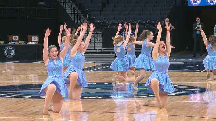 The Sights & Sounds Of The State Dance Team Meet