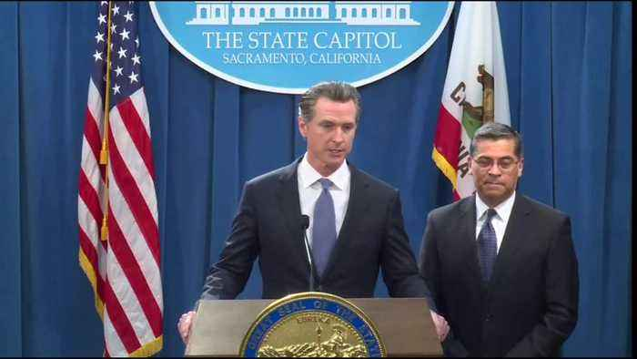 Newsom to Trump: 'See you in court'