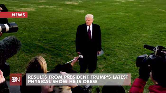President Trump Is Overweight
