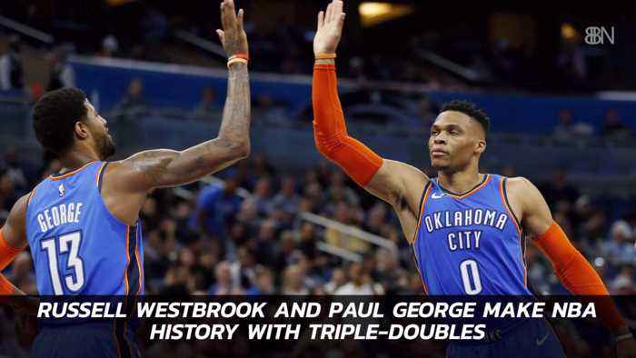 These Basketball Stars Break Records For Triple Doubles