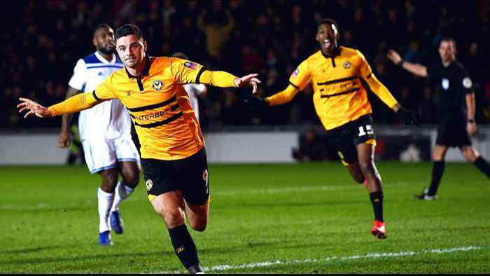 English FA Cup: Man City face Newport County in pre-quarters