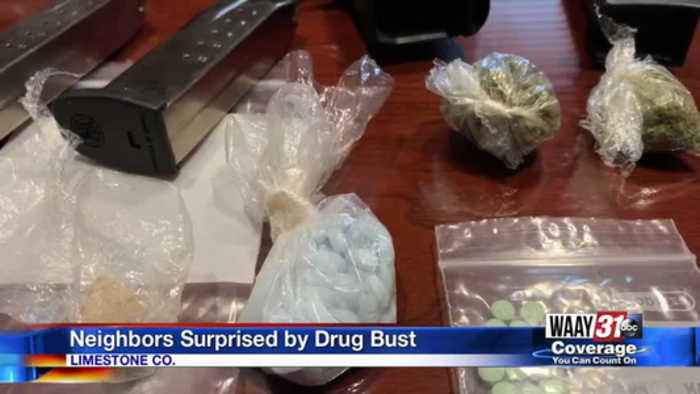 Neighbors Surprised by Drug Busts