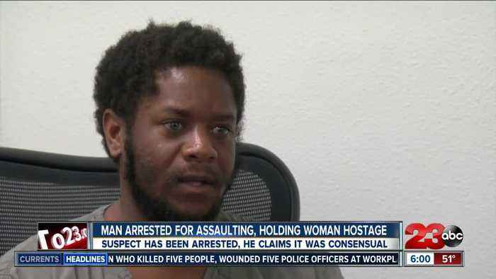 Man arrested for assaulting a woman on Valentine's Day speaks out