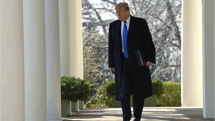 President Trump Receives Update On China Trade Talks