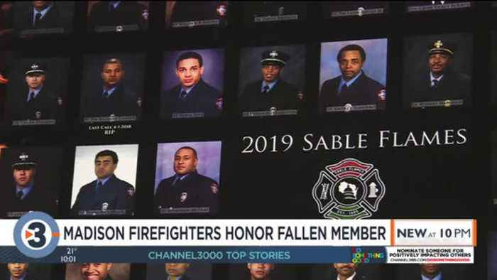 Community service award given in honor of fallen Madison firefighter