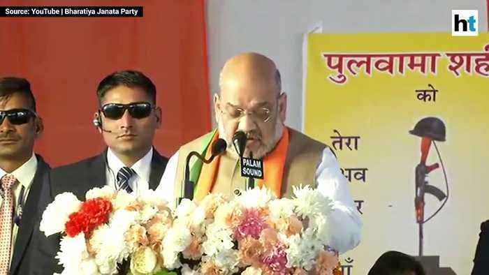 India is standing rock solid with the families of martyrs: Amit Shah