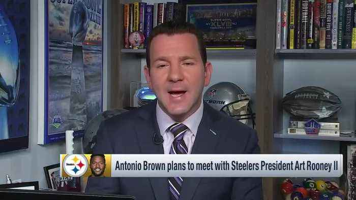 NFL Network Insider Ian Rapoport: Pittsburgh Steelers wide receiver Antonio Brown plans to meet with team owner Art Rooney II ah