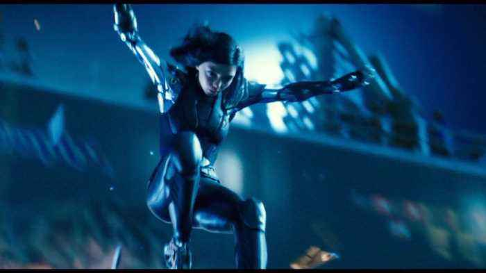Here Is An Insane Action Scene From 'Alita: Battle Angel'