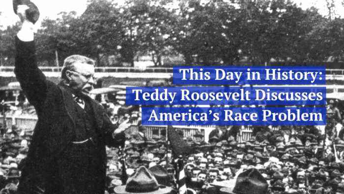 Teddy Roosevelt Discussed American Race Discrimination Problem In 1905