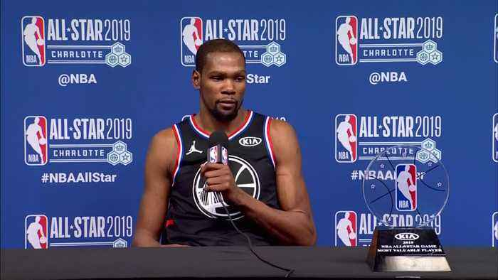 Durant named MVP as Team LeBron rallies for NBA All-Star win